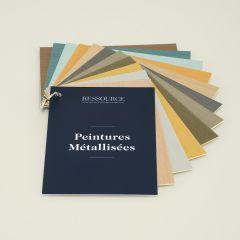 Ressource Farbfächer - Metall Optik Farben