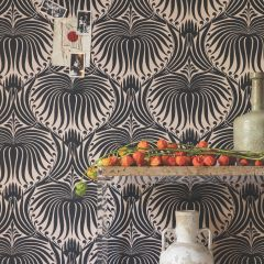 Farrow and Ball Tapete in Design Lotus Large BP 2063