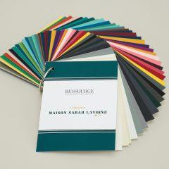 Ressource Farbfächer zur Kollektion von Sarah Lavoine