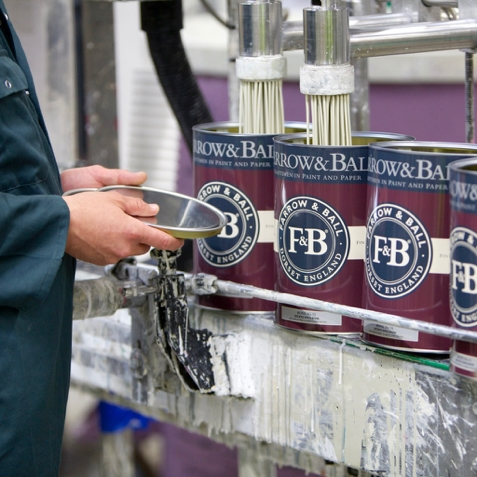 Produktion bei Farrow and Ball