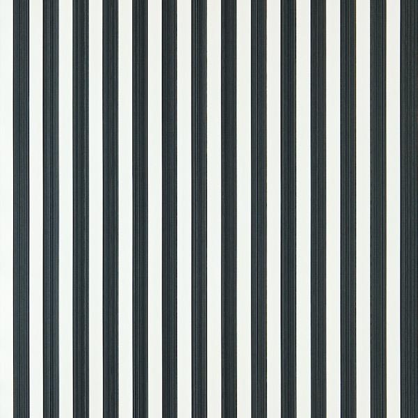 Tapete mit Muster Closet Stripe von Farrow and Ball in 351