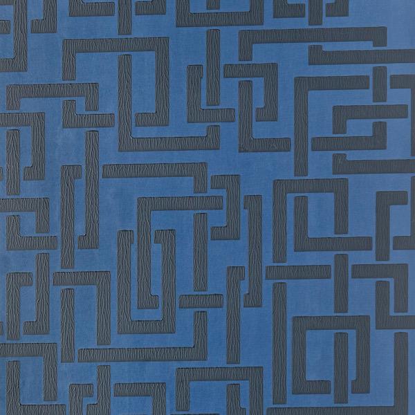 Tapete mit Muster Enigma von Farrow and Ball