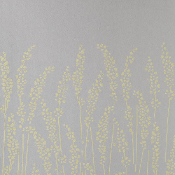 Tapete in Muster Feather Grass von Farrow and Ball