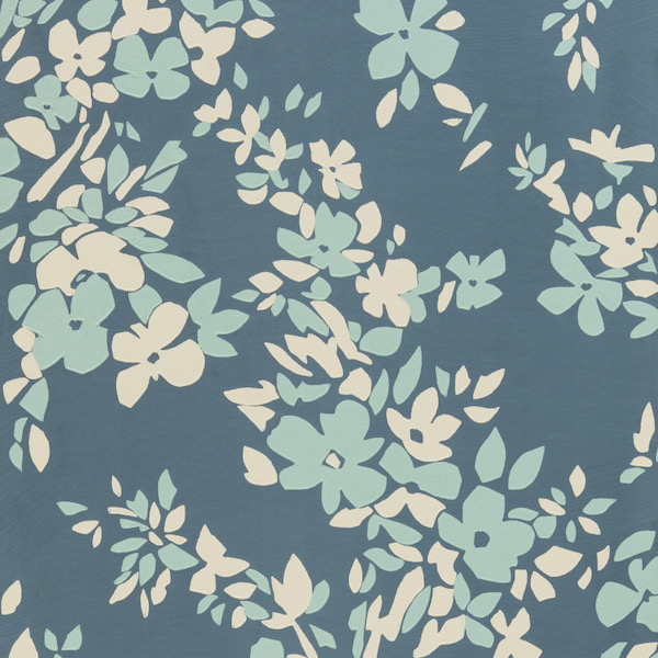 Tapete in Muster Hegemone von Farrow and Ball