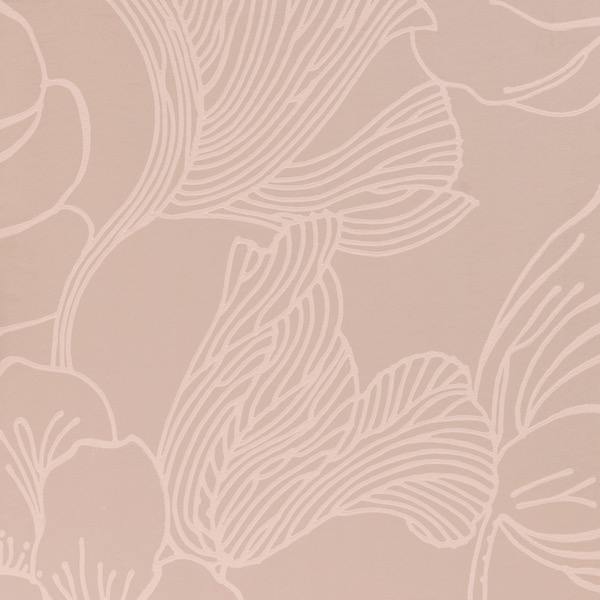 Tapete in Muster Helleborus von Farrow and Ball