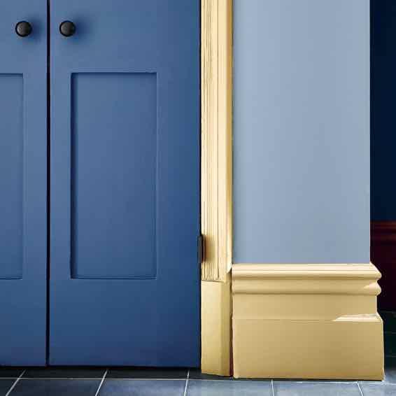Tür mit Farbe von Little Greene