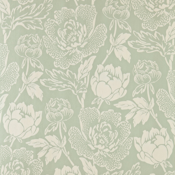 Tapete in Muster Peony von Farrow and Ball