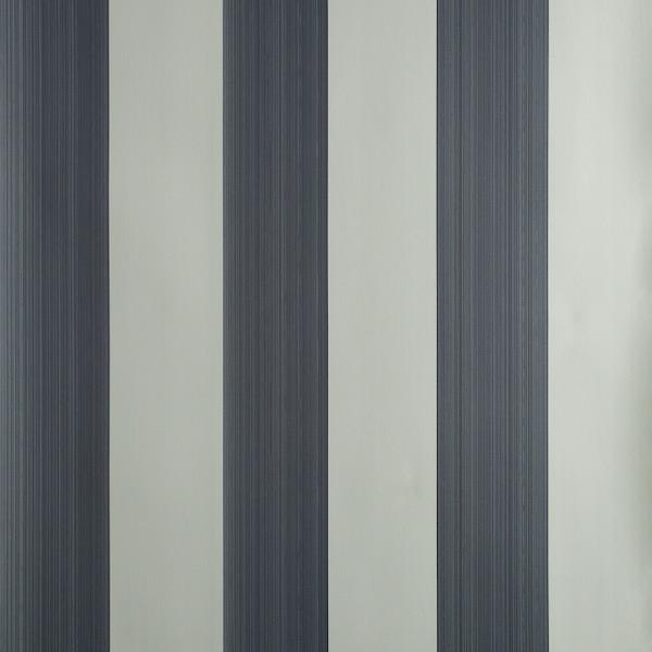 Tapete in Muster Plain Stripe von Farrow and Ball