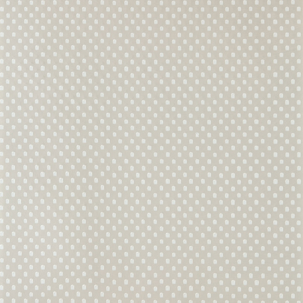 Tapete mit Muster Polka Square von Farrow and Ball