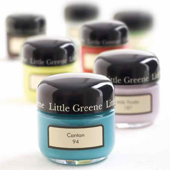 Probedosen von Little Greene