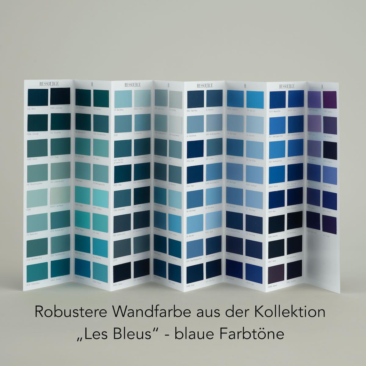 Blaue Farbtöne Ressource
