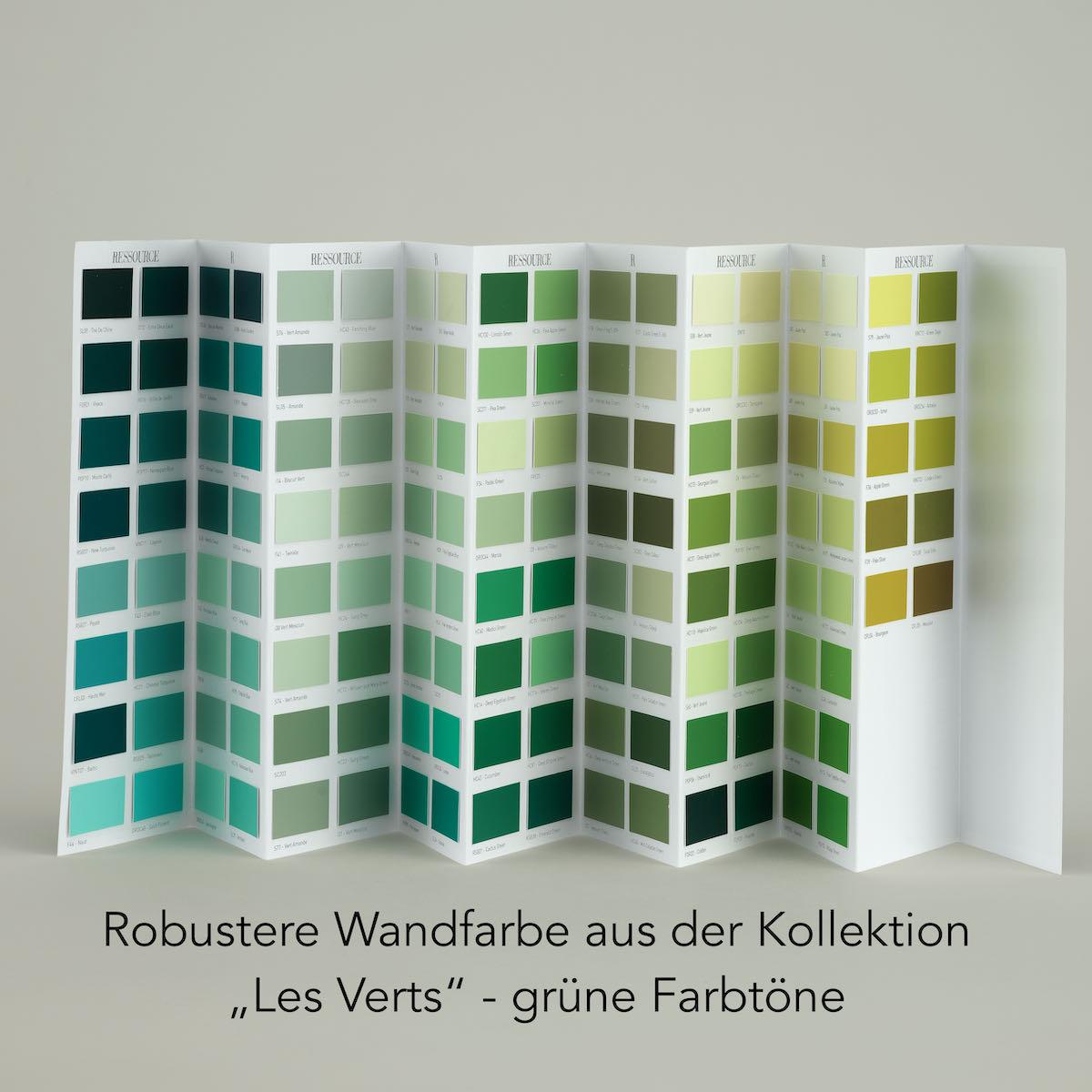 Grüne Farbtöne Ressource