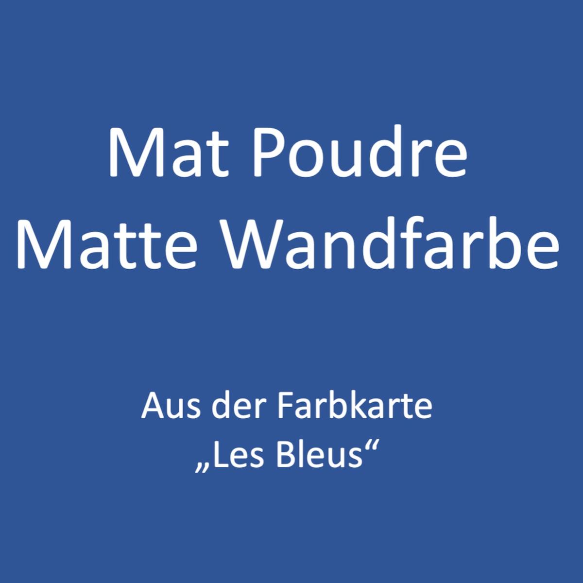 Kategoriebild Ressource Mat Profond - matte Wandfarbe - Les Bleus