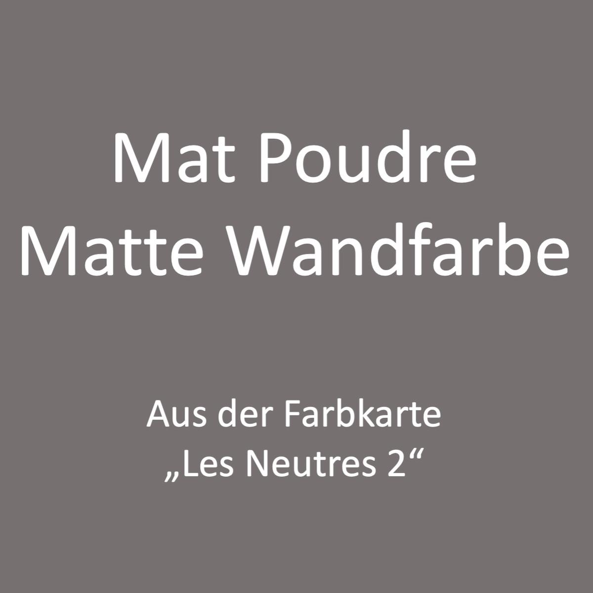 Kategoriebild Ressource Mat Profond - matte Wandfarbe - Les Neutres 2