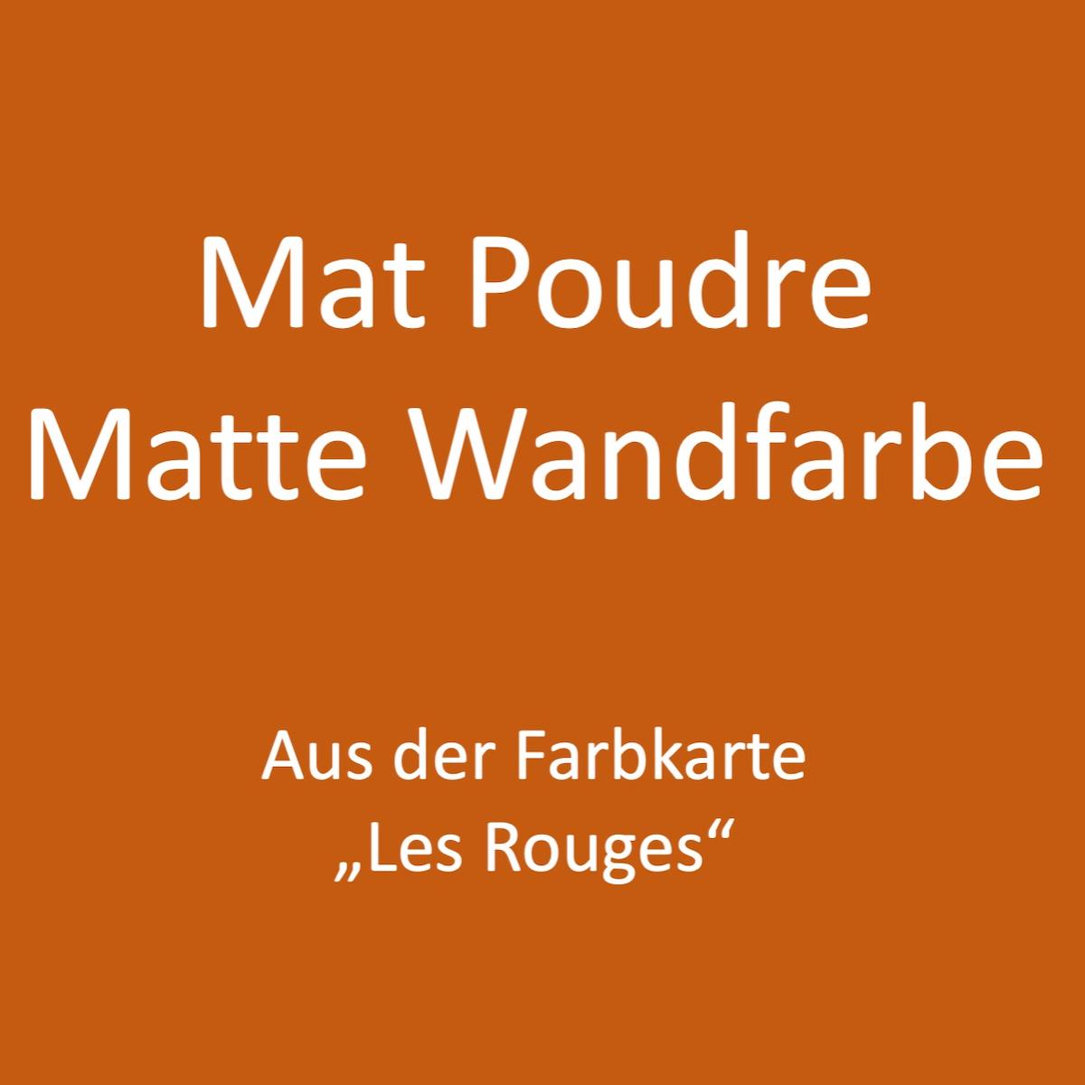 Kategoriebild Ressource Mat Profond - matte Wandfarbe - Les Rouges