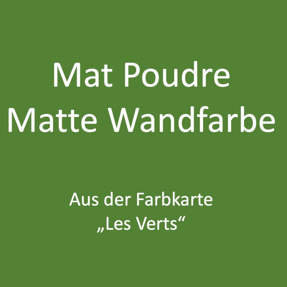Kategoriebild Ressource Mat Profond - matte Wandfarbe - Les Verts