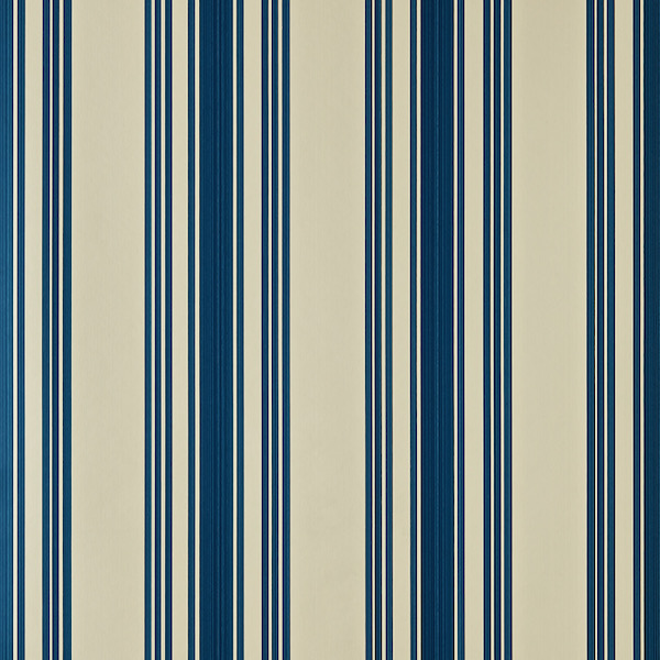 Tapete mit Muster Tented Stripe von Farrow and Ball in 4404